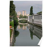 Ljubljana Reflections Poster