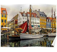 Nyhavn 17, getting it ready Poster