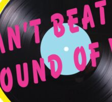 Sound of vinyl Sticker
