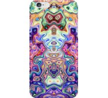 Faces In Abstract Shapes 8 iPhone Case/Skin