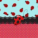 Charming Ladybugs by purplesensation