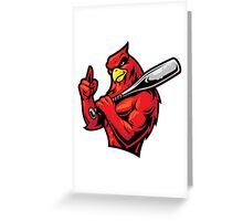 Rowdy Rooster Greeting Card