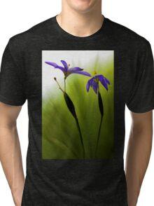 Blue-Eyed Grass Tri-blend T-Shirt