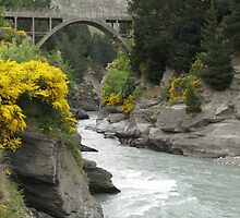 NZ - Shotover Canyon by soulimages