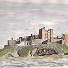 Bamburgh Castle by GEORGE SANDERSON