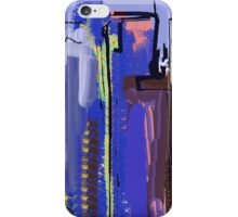 Abstract City View iPhone Case/Skin