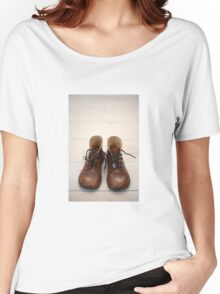 Baby Brogue Boots Women's Relaxed Fit T-Shirt