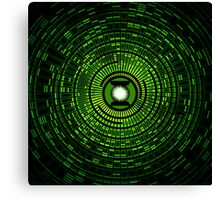 Power Of The Green Ring Canvas Print