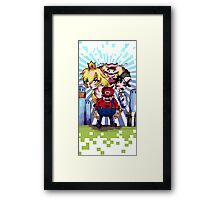 Bad Mario Framed Print