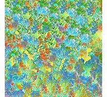 Abstract Garden Photographic Print