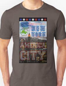 New York America City Unisex T-Shirt