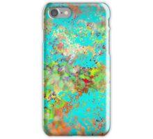 Abstract Garden with Garden Splash iPhone Case/Skin