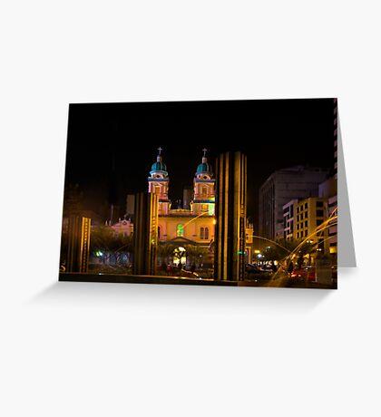 Guayaquil Metropolitan Cathedral Of Saint Peter Greeting Card