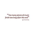 Finishing after the end... (Amazing Sayings) by gshapley