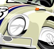 VW Beetle Herbie the Lovebug Sticker