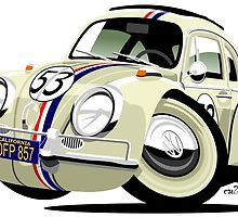 VW Beetle Herbie the Lovebug by car2oonz