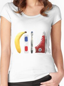 Allons-y my friend! Women's Fitted Scoop T-Shirt
