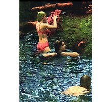 Going Skinny Dippin' Photographic Print