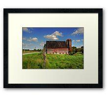 Ashtabula County Barn Framed Print