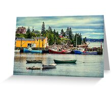 Northwest Cove, Nova Scotia Greeting Card