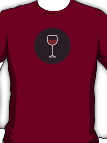 Wine Icon - Drinks Series T-Shirt