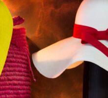Panama Hats Are Made In Ecuador III Sticker