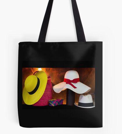 Panama Hats Are Made In Ecuador III Tote Bag