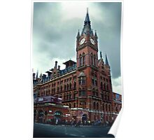 london st. pancras station Poster