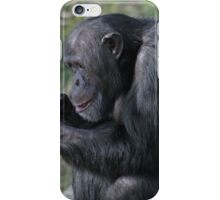 Catching up on the goss! iPhone Case/Skin