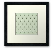Tea Pattern - Drinks Series Framed Print