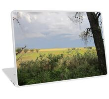 Tree and fence Laptop Skin
