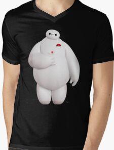 Baymax Pokemon Mens V-Neck T-Shirt