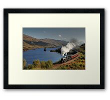 Fort William to Mallaig train Framed Print