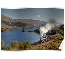 Fort William to Mallaig train Poster