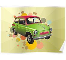 Funny Car Poster
