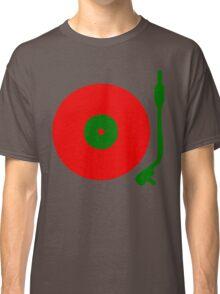 Red Green DJ Vinyl Record Turntable Classic T-Shirt
