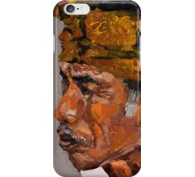 Reminiscent - Balinese Old Man iPhone Case/Skin
