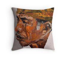 Reminiscent - Balinese Old Man Throw Pillow