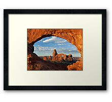 Morning Windows Framed Print