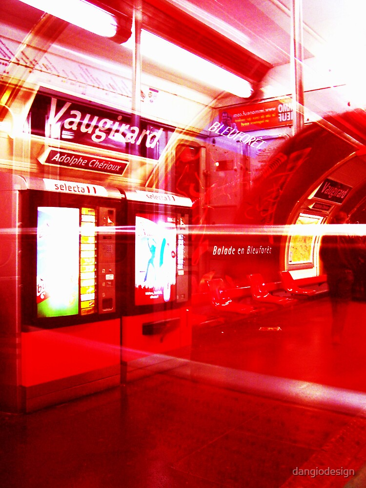 Red Metro by dangiodesign