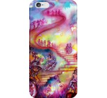 GARDEN OF THE LOST SHADOWS / MYSTIC STAIRS  iPhone Case/Skin