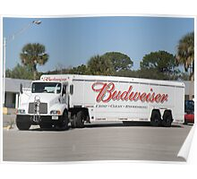 Beer Delivery - American Style Poster