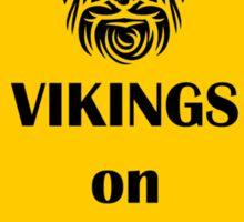 Vikings on Board Sticker