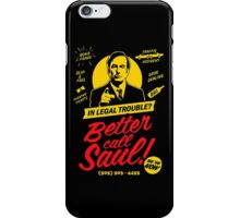 BETTER CALL SAUL! iPhone Case/Skin