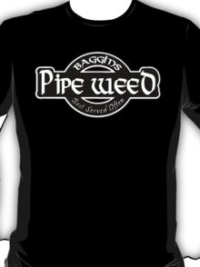Baggins Pipe Weed T-Shirt