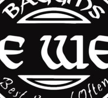Baggins Pipe Weed Sticker