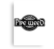 Baggins Pipe Weed Canvas Print