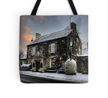 The Rock In The Snow Tote Bag