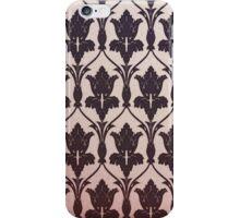 221B Baker Street Wallpaper iPhone Case/Skin
