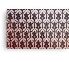221B Baker Street Wallpaper Metal Print